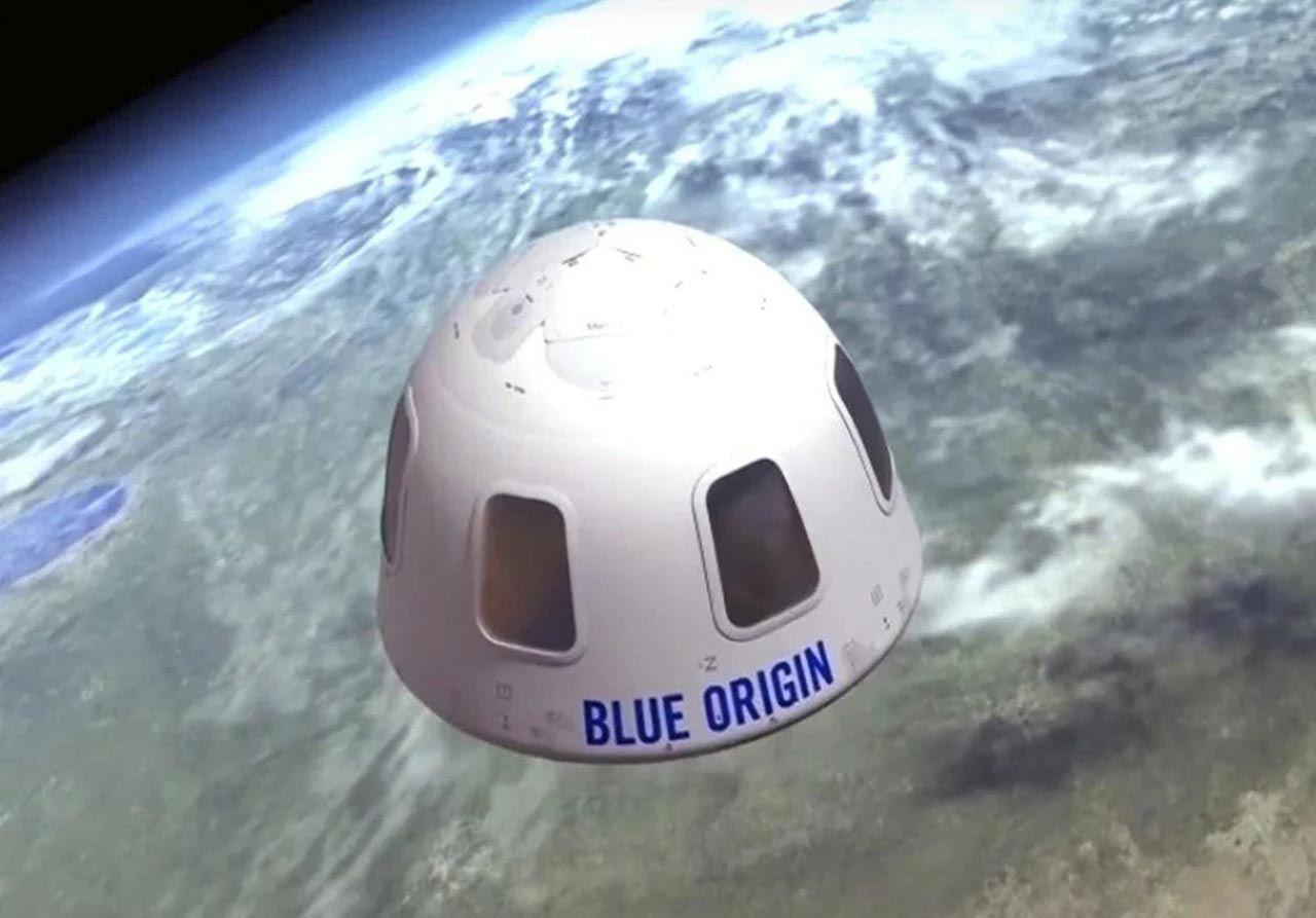 Tarihi uzay yolcuğundan kareler... Bezos uzaya gidip geldi - Resim: 4