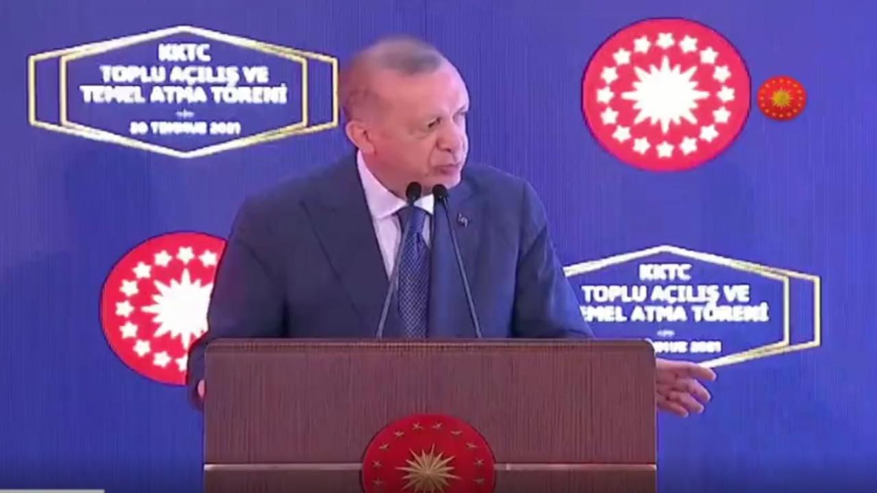 Promter takılınca Erdoğan'ın tepkisi sert oldu