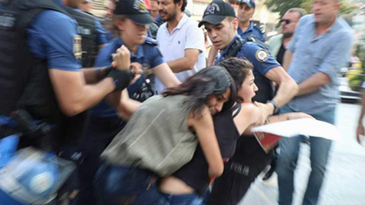 İstanbul'da Suruç Katliamı protestosı gözaltıları