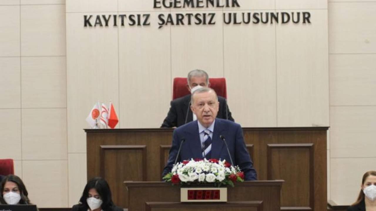 Rumlar Erdoğan'ın Kıbrıs'taki açıklamalarını BM'ye taşıyor