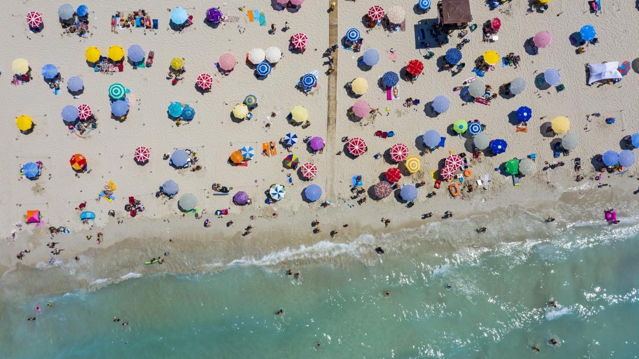 Türkiye'nin tatil cennetinde nüfus 1 milyonu aştı