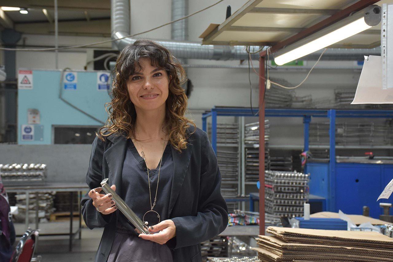 Fabrikanın kaynak tezgahı kadınlara emanet - Resim: 4