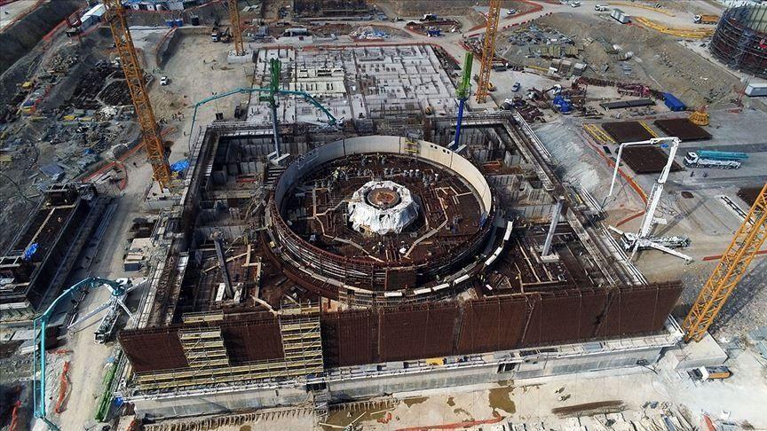 Akkuyu nükleer santralinin inşaatında son durum - Resim: 2