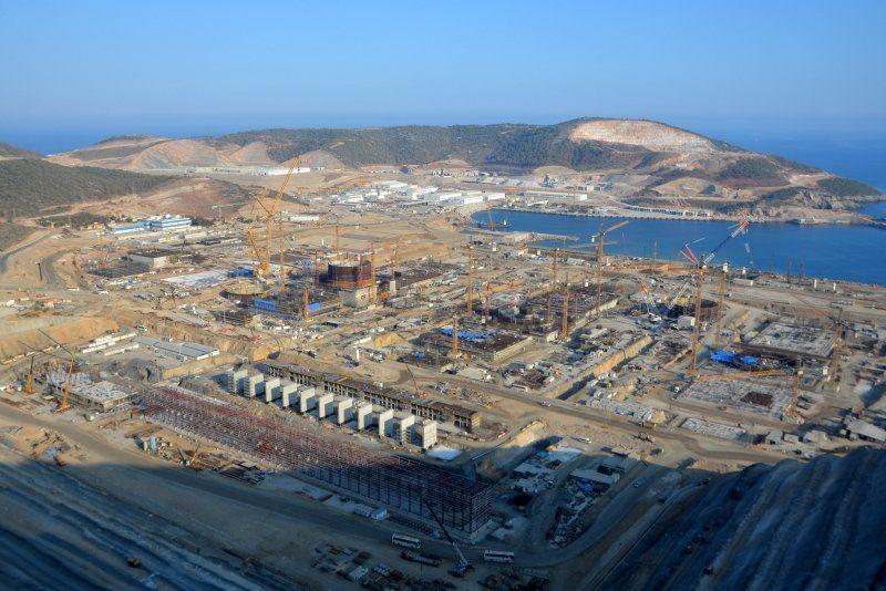Akkuyu nükleer santralinin inşaatında son durum - Resim: 4
