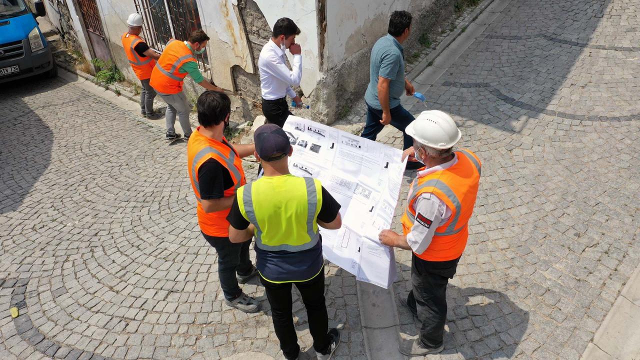 Ankara Kalesi'nde iyileştirme çalışmaları devam ediyor