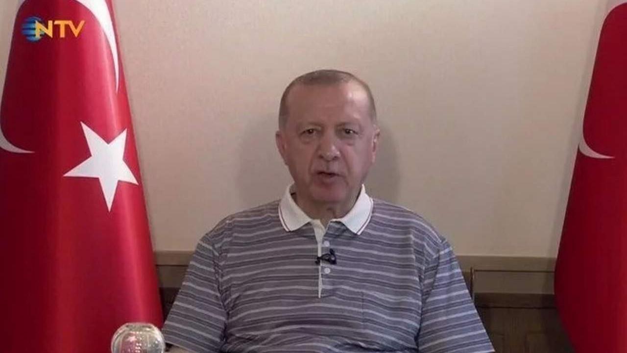 Erdoğan koronavirüs varyantları için uyardı: ''Pençesinden düşmedik''