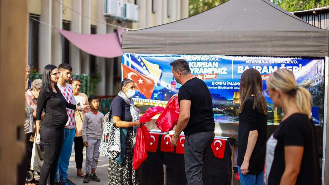 Ekrem İmamoğlu: ''Balkanlar'da gönüller yapmaya geldik''