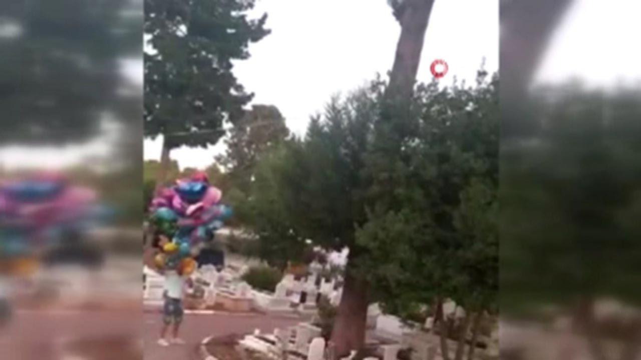 Çocuk mezarlarındaki balonların sırrı herkesi ağlattı - Resim: 1