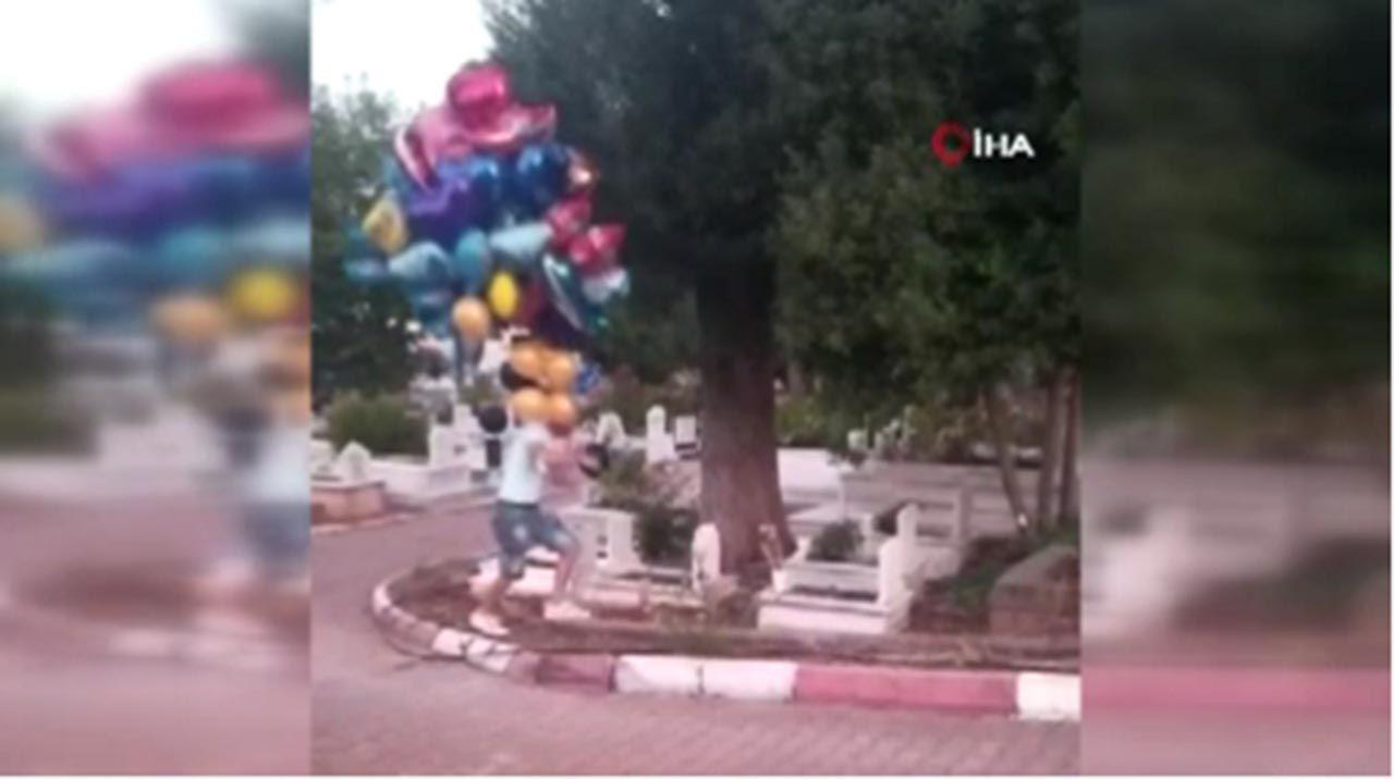 Çocuk mezarlarındaki balonların sırrı herkesi ağlattı - Resim: 3