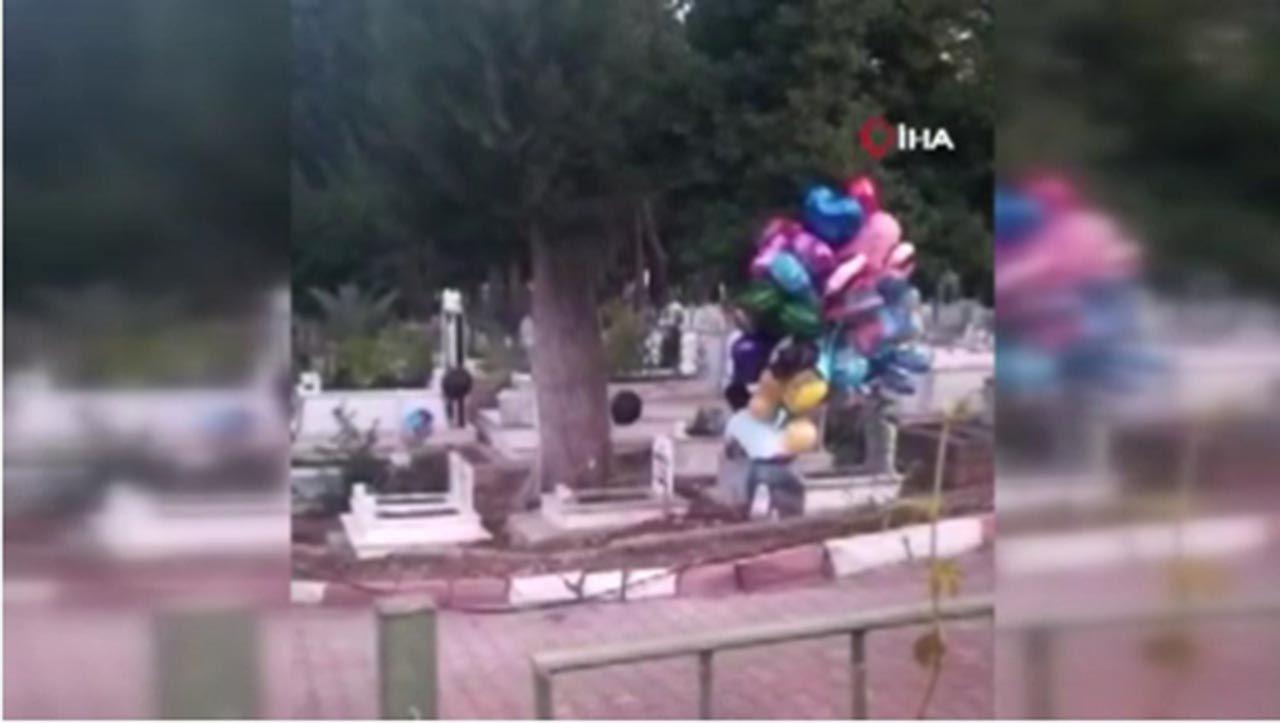 Çocuk mezarlarındaki balonların sırrı herkesi ağlattı - Resim: 4