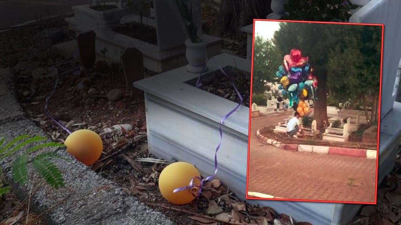 Çocuk mezarlarındaki balonların sırrı herkesi ağlattı