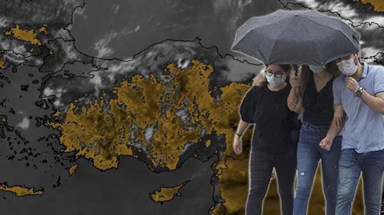 Dikkat!  Meteoroloji'den 'sarı ve 'turuncu' uyarı: İşte bölge bölge hava durumu - Resim: 1