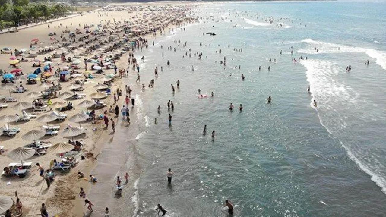 O sahilde denize girme yasağı uzatıldı