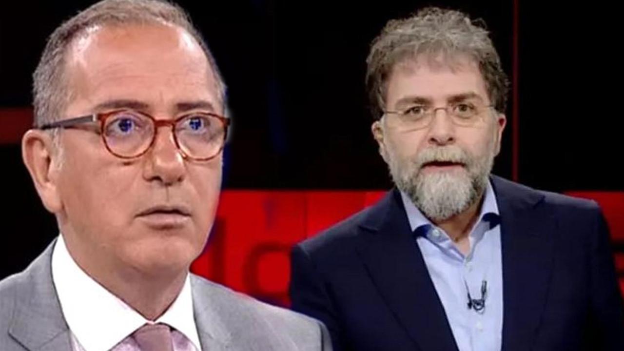 Fatih Altaylı'dan Ahmet Hakan'a: ''Bunu neye dayanarak iddia ediyor bilmiyorum''