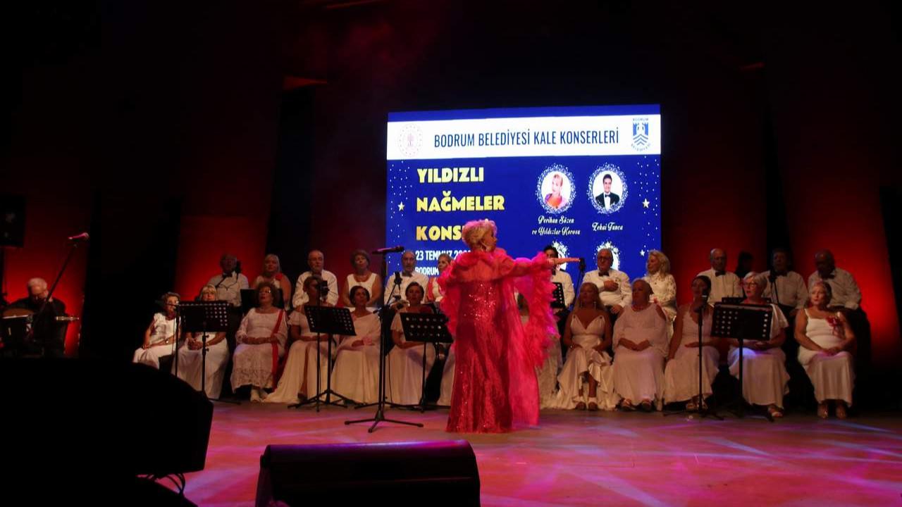 Bodrum Belediyesi Kale Konserleri'nde Türk Sanat Müziği Rüzgarı