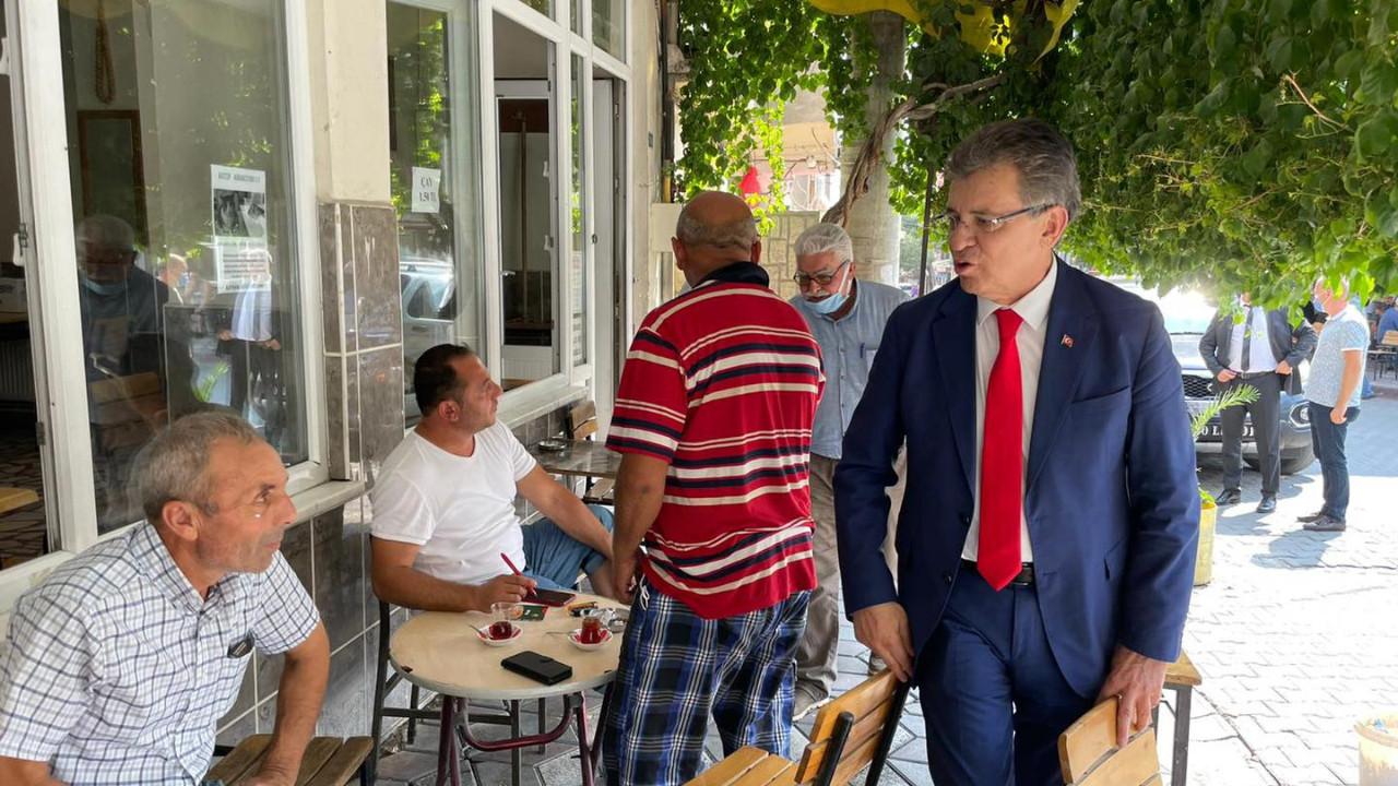 Başkan Arslan, bayramı halkla birlikte geçirdi