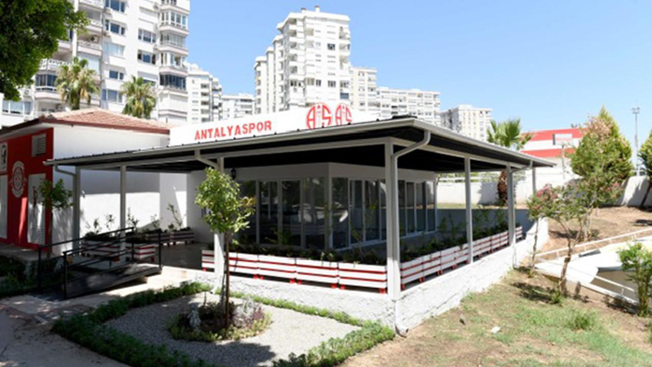 Antalyaspor taraftar lokalinin inşaatı tamamlandı