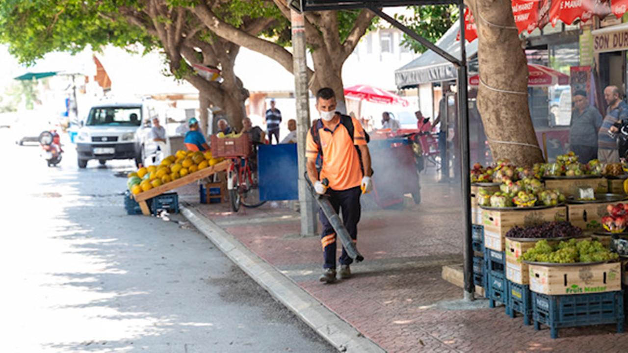 Mersin Büyükşehir Belediyesi bayram boyunca hizmete devam etti