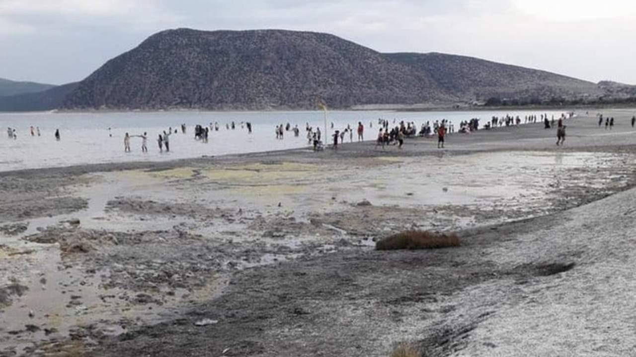 Bakanlıktan Salda'daki bu skandal görüntüye tepki çeken açıklama