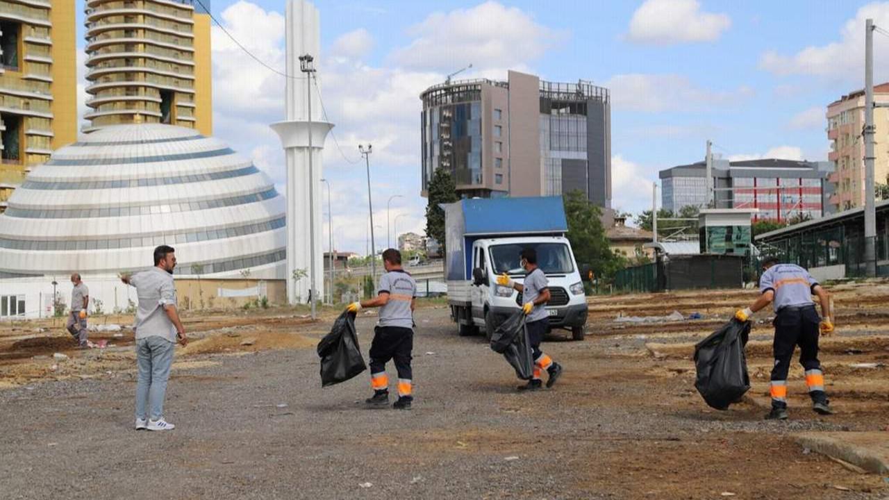 Kartal'da Bayram Sonrası Kurban Satış ve Kesim Alanında Yoğun Mesai