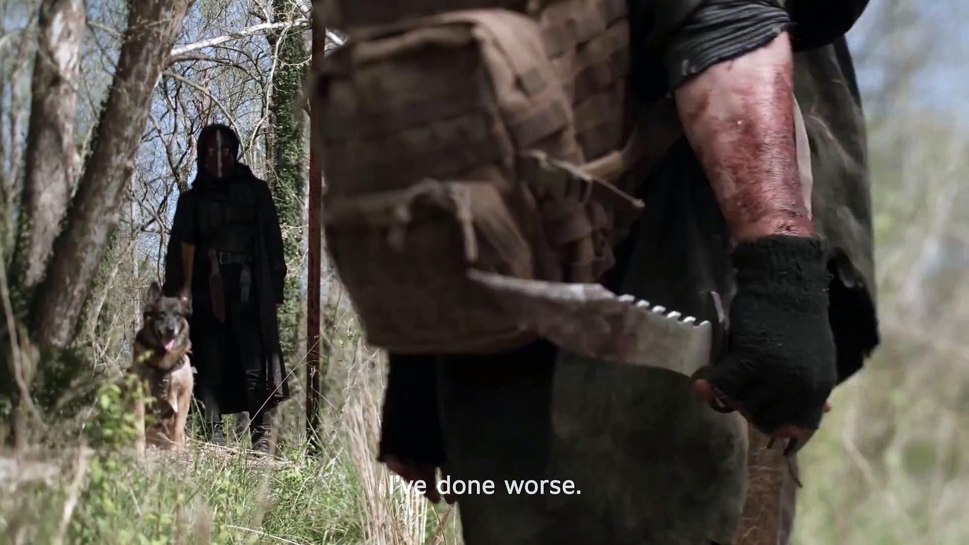 The Walking Dead'ten ''final'' fragmanı geldi... İzleyiciye böyle veda edecek!