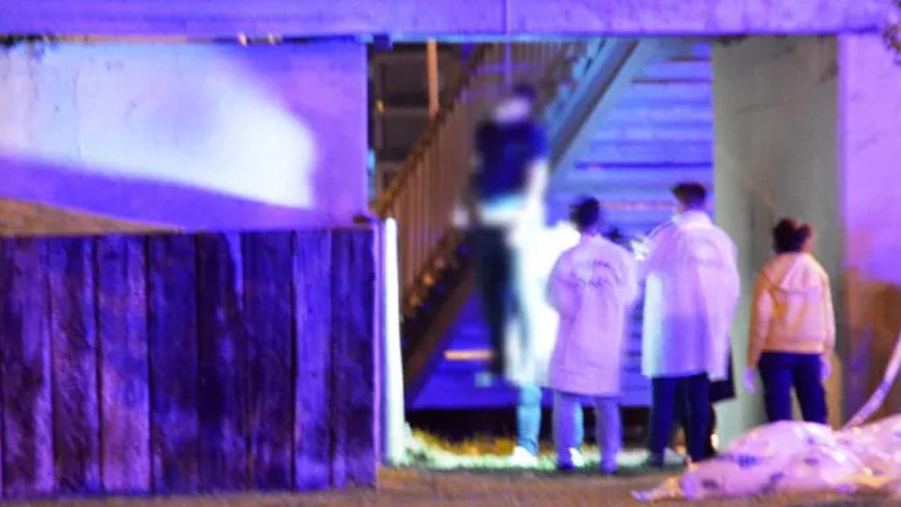 İstanbul'da dehşet: Köprüye asılı halde bulundu