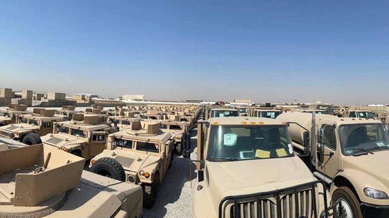 ABD'den Peşmerge güçlerine askeri yardım