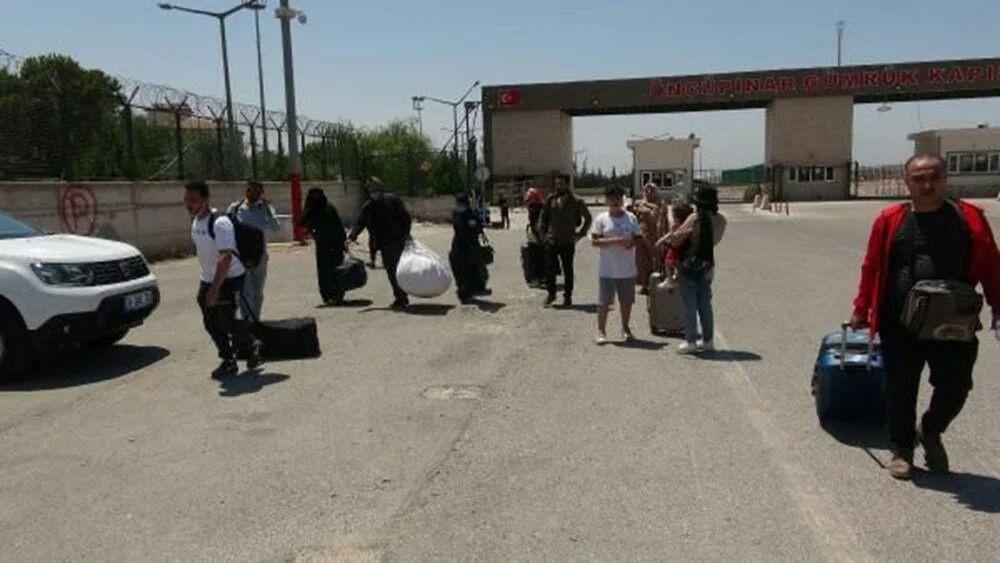 Mültecilerin bayram dönüşü başladı - Resim: 1