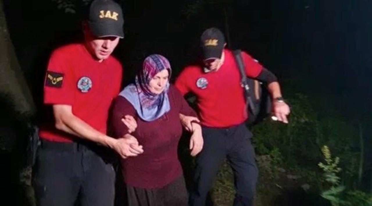 Uludağ'da mucize kurtuluş! Kayıp kadın 3 gün sonra bulundu - Resim: 1