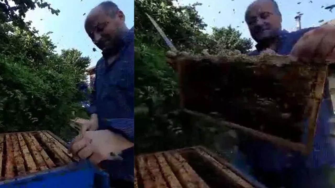 ''Ben arılara fısıldayan adamım'' diyerek öyle bir şey yaptı ki...