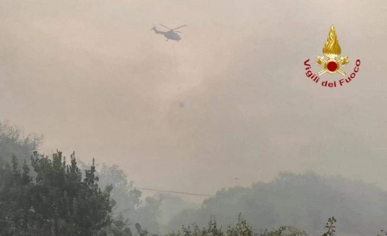 Sardunya Adası'nda görülmemiş felaket - Resim: 1