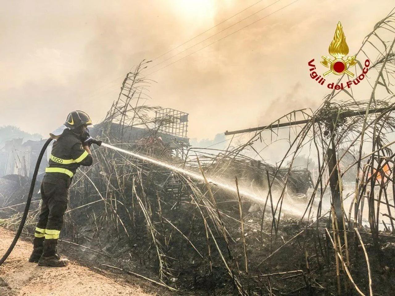 Sardunya Adası'nda görülmemiş felaket - Resim: 2