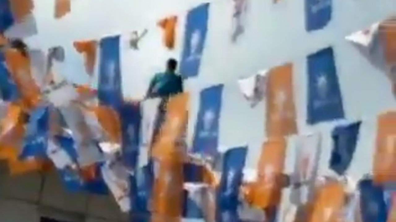 AK Parti İl Başkanlığı'nda intihar girişimi