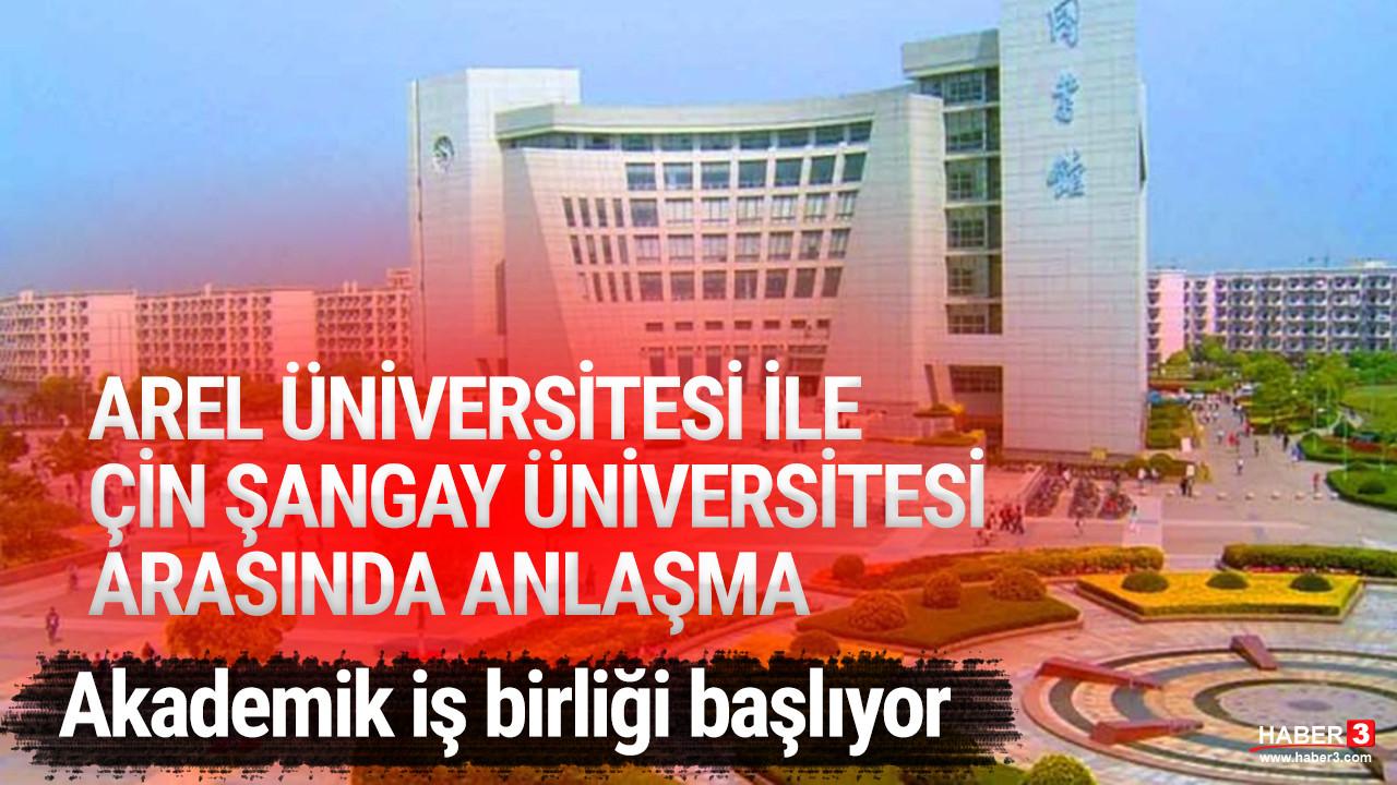 AREL, Çin Şangay Üniversitesi ile anlaşma imzaladı