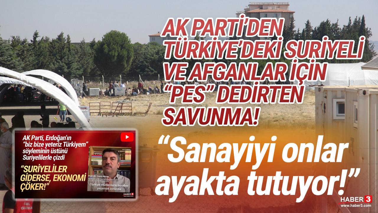 AK Parti'den skandal açıklama: ''Sanayiyi onlar ayakta tutuyor''