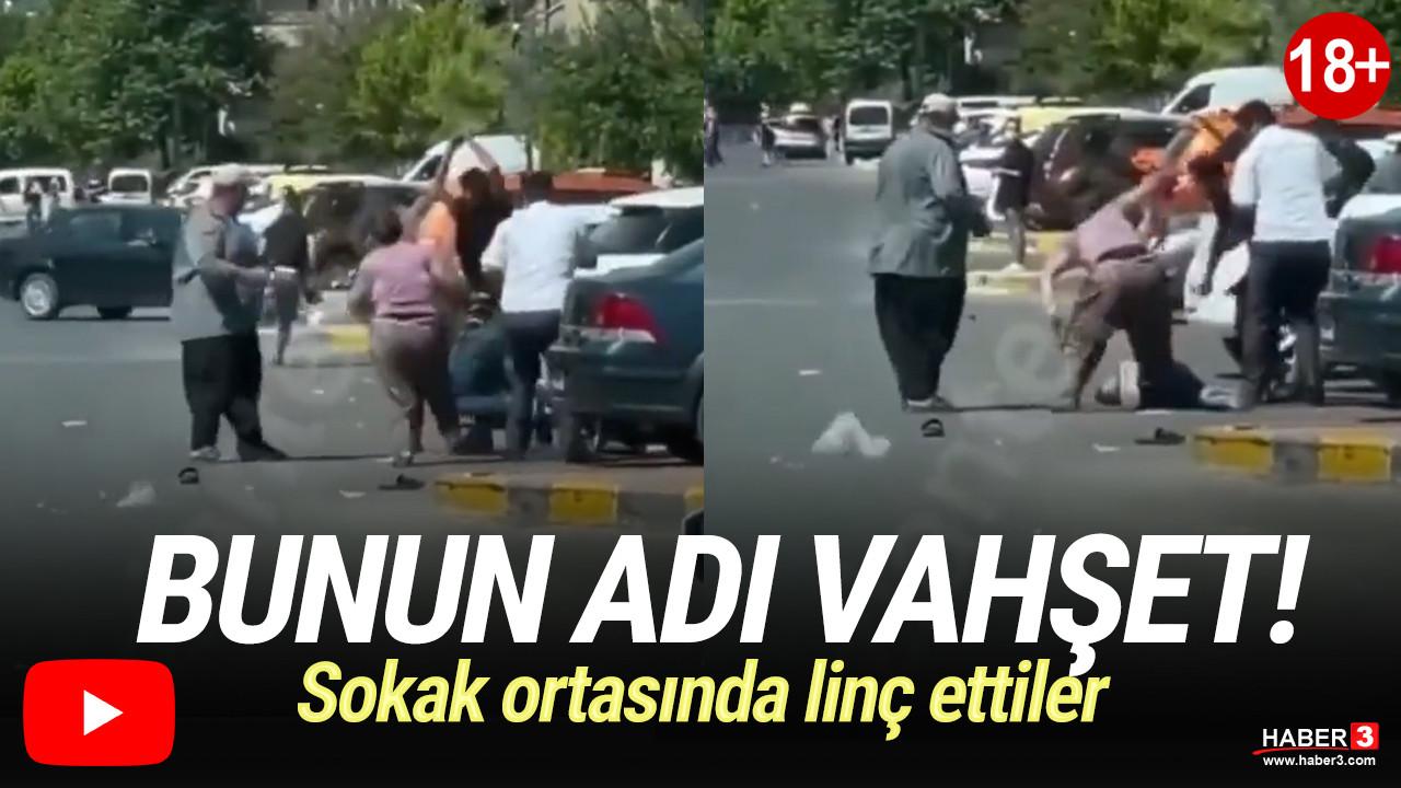 Gaziantep'te sokak ortasında dehşete düşüren görüntüler