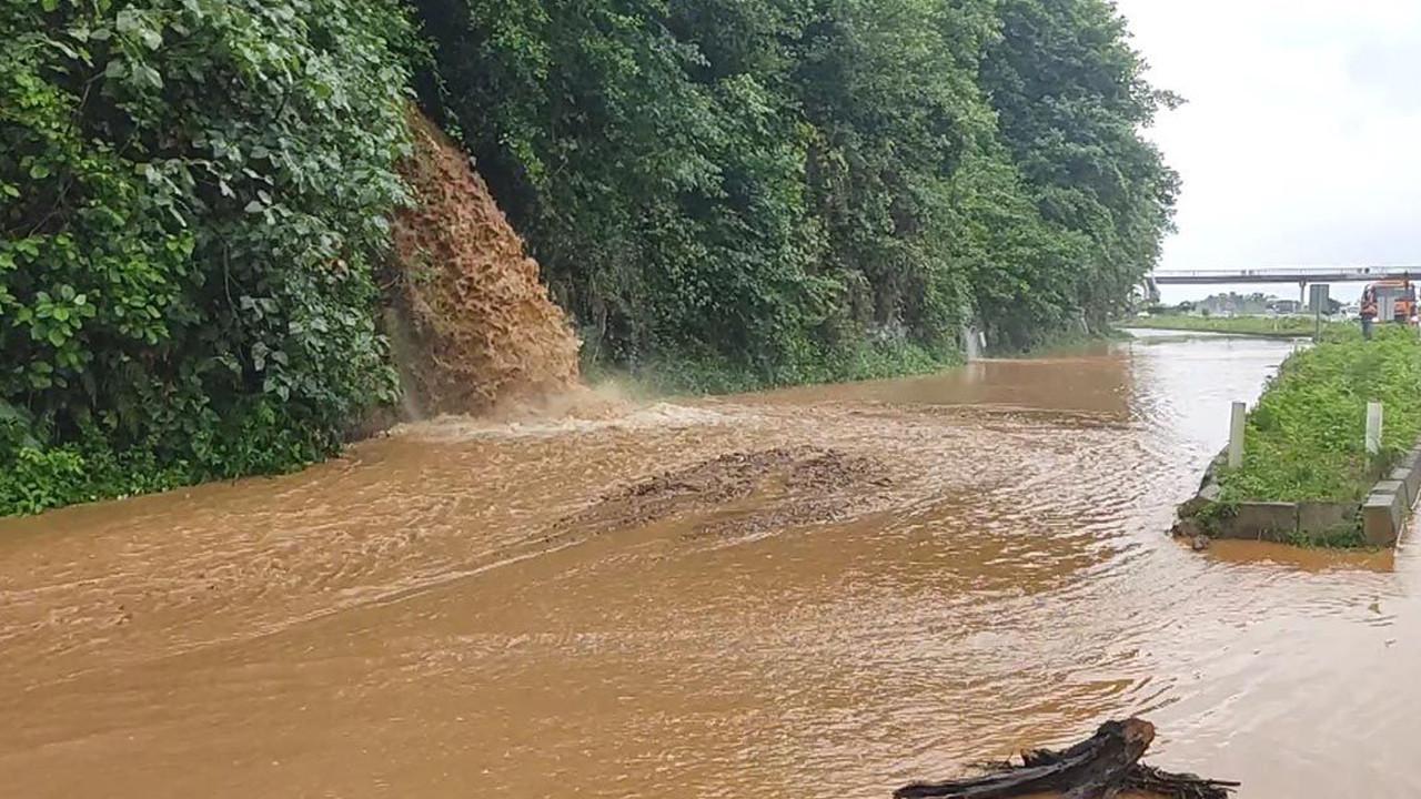 Rize ve Artvin'de beklenen yağış başladı: Arhavi'de iki mahalleyi su bastı