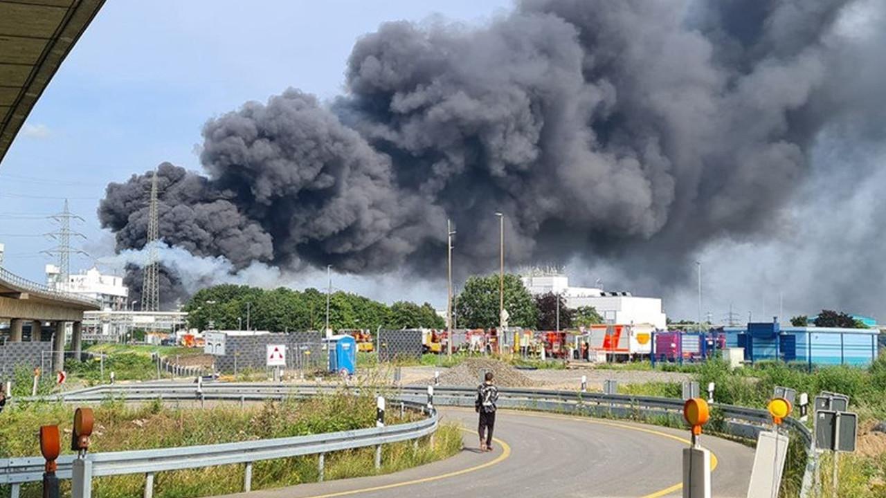 Almanya'da şiddetli patlama
