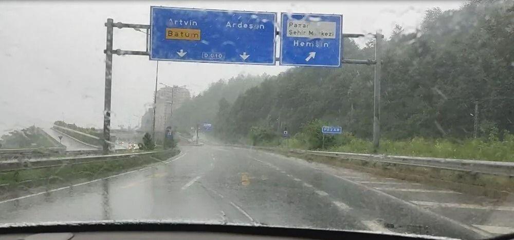 Meteoroloji iki gündür uyarıyordu... Beklenen yağış başladı - Resim: 4