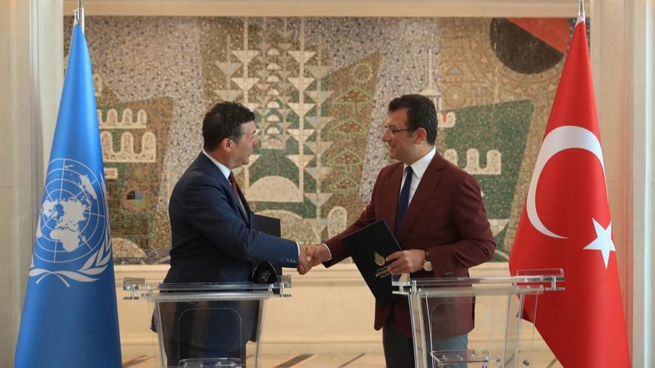 İBB ve UNHRC arasında mültecilere yönelik  iş birliği anlaşması