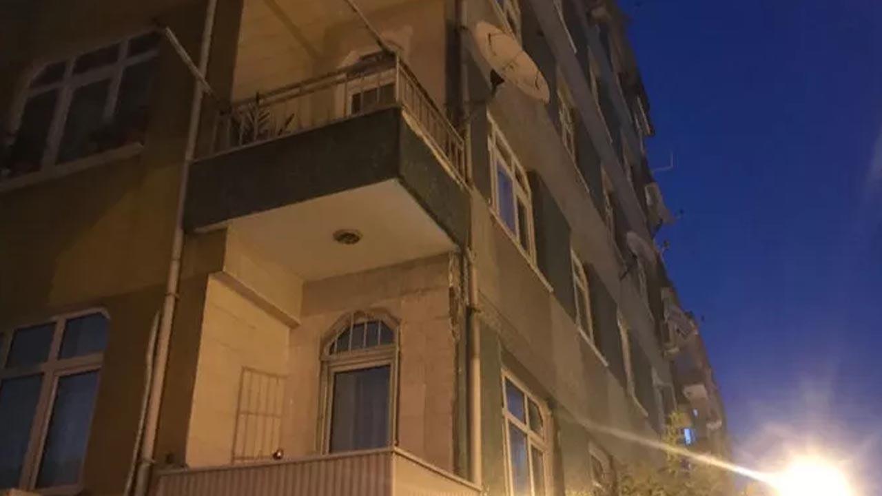 İstanbul'da balkonunda çatlaklar olan bina tedbir amacıyla boşaltıldı