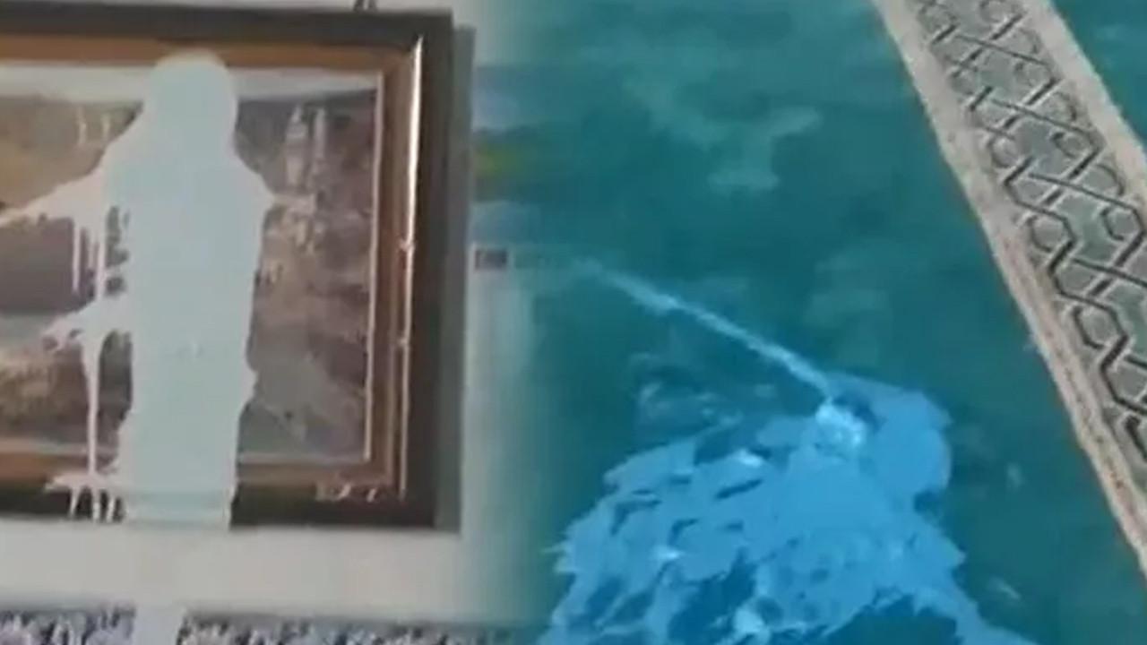 Denizli'de camiye çirkin saldırı!