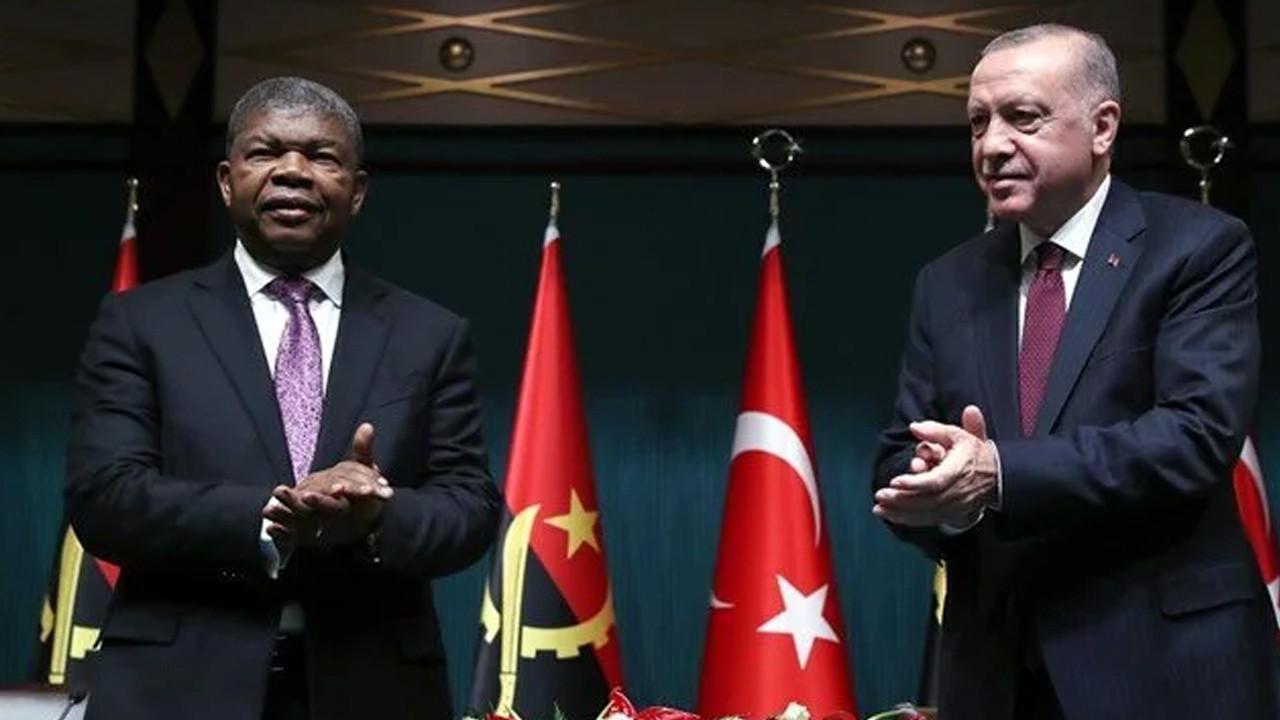 Angola ile Türkiye arasında 10 anlaşma