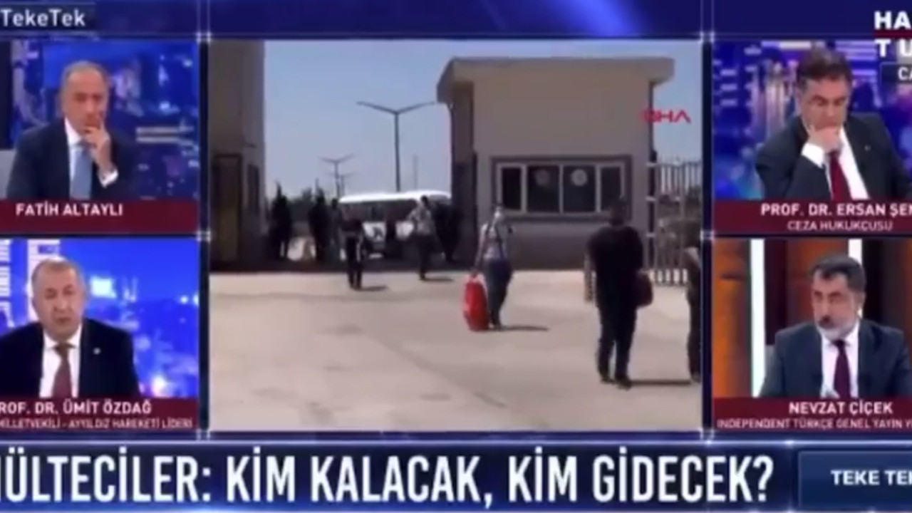 Ümit Özdağ'dan AK Partili Şen'e tokat gibi yanıt
