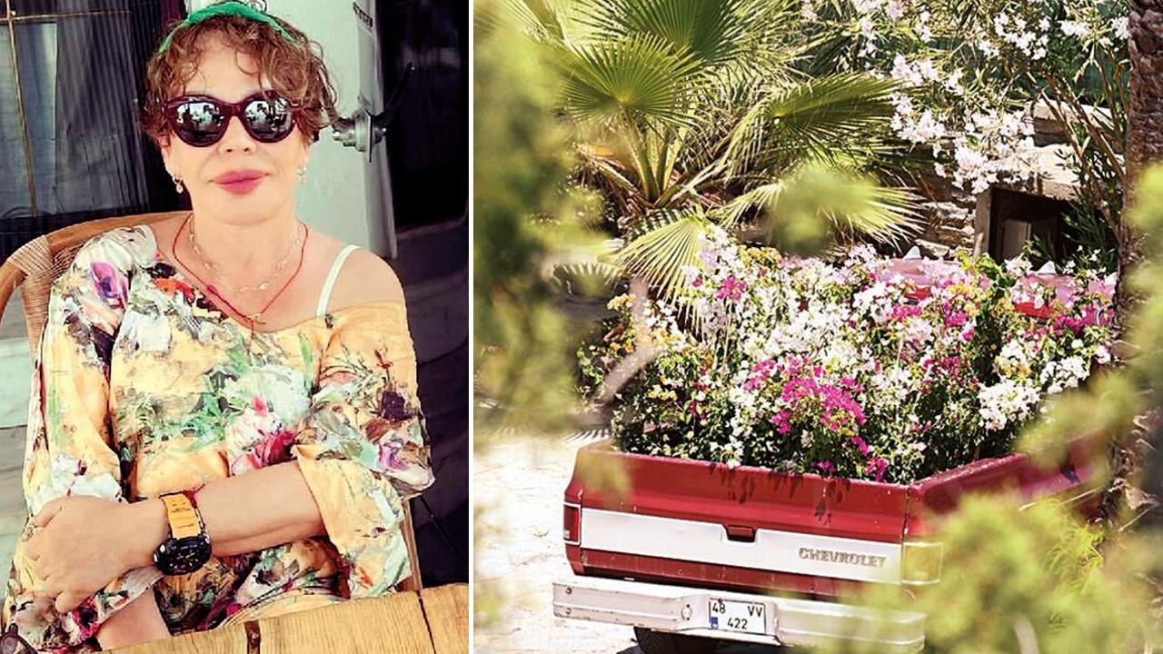 Sezen Aksu'ya bir kamyon dolusu çiçek