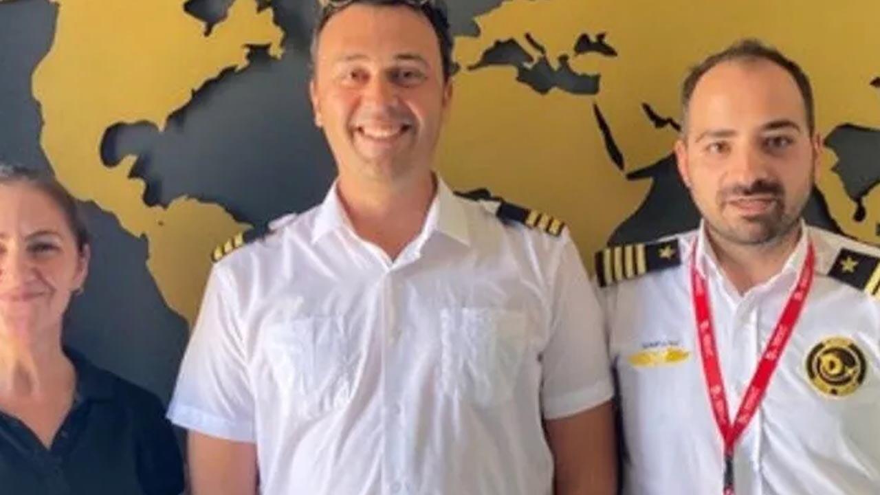 TRT'nin başarılı sunucusu pilot oldu