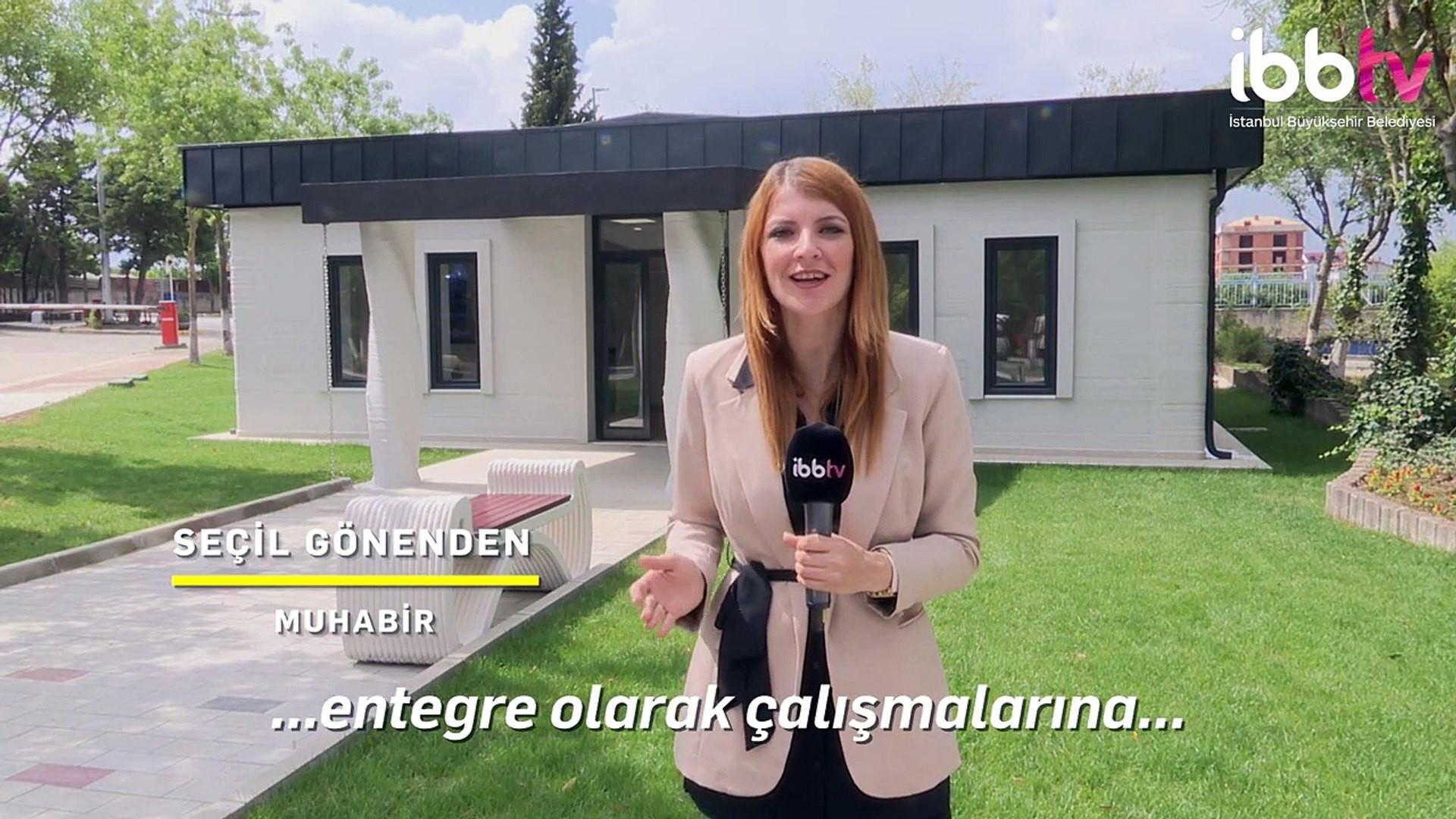 Türkiye'de bir ilk! İBB'den 3 boyutlu yazıcıyla depreme dayanıklı ev