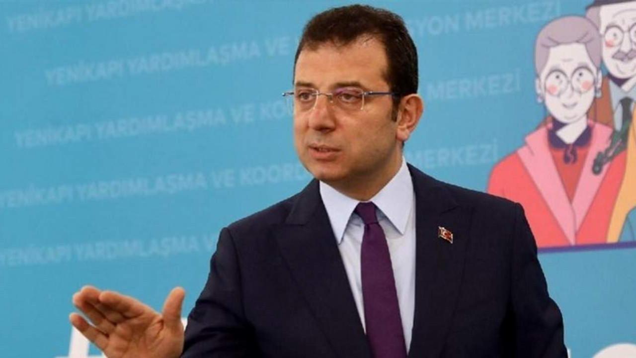 İmamoğlu'ndan Bolu Belediye Başkanı'na: ''O söylemleri kabul etmiyorum''