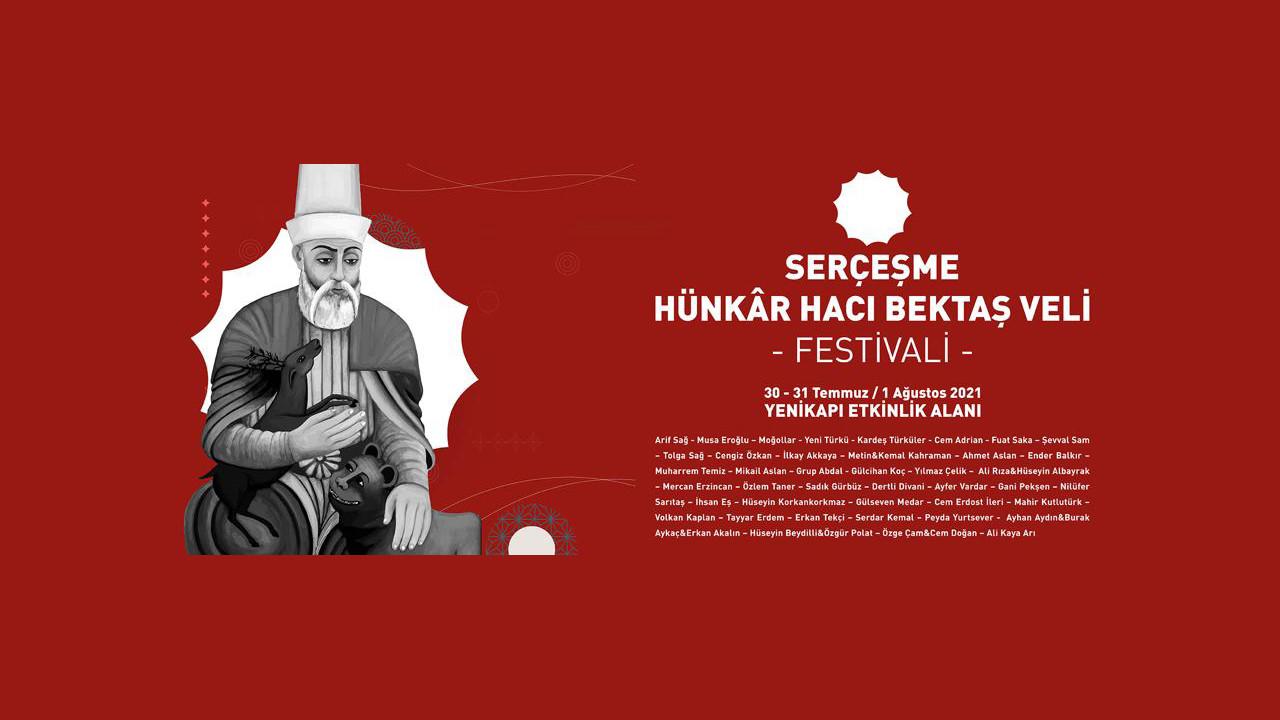 İstanbul Serçeşme Hünkâr Hacı Bektaş Veli Festivali'nde buluşuyor