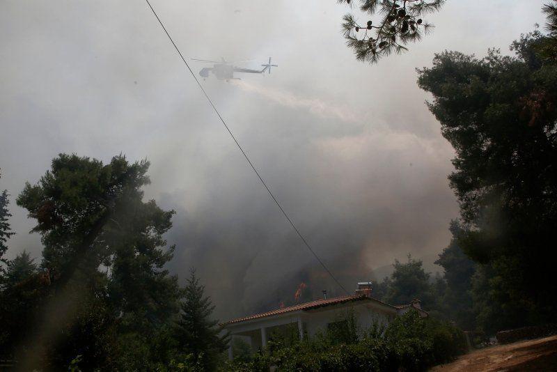 Yunanistan kabusu yaşıyor! Evler boşaltıldı, yollar trafiğe kapatıldı - Resim: 2